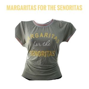 GAZE Green Margaritas for the Senoritas Tshirt